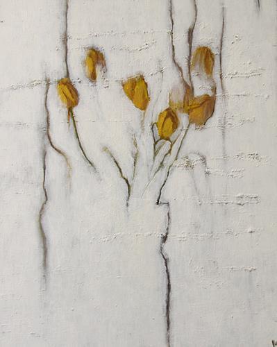 Katrin Ginster, tulpen, angsterstarrt, Pflanzen: Blumen, Gefühle: Angst