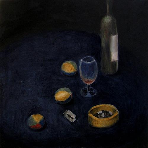 Katrin Ginster, Gestern, Stilleben, Gefühle: Depression, Gegenwartskunst
