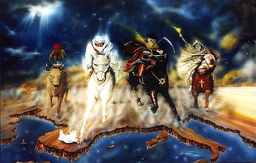 Silvia PECHA, Die vier Apokalyptischen Reiter, Religion, Symbol, Symbolismus