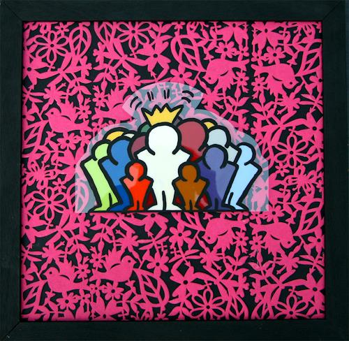 Francis Tucker, Pink Palace (Felt), Gesellschaft, Diverses, Pop-Art