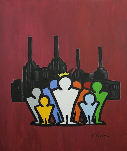 Francis Tucker, Butterfield Red, Gesellschaft, Pop-Art
