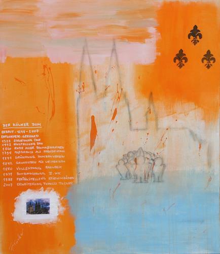 Francis Tucker, der Dombau, Religion, Bauten: Kirchen, Pop-Art