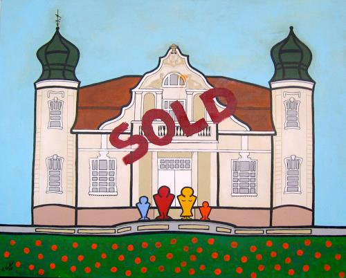 Francis Tucker, Cebulowy Sold, Bauten: Haus, Architektur, Pop-Art