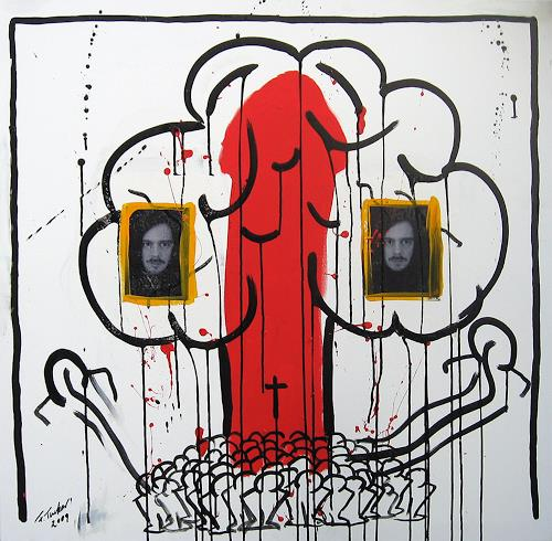 Francis Tucker, Apocalypse 2009 I, Mythologie, Gesellschaft, Pop-Art