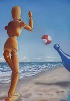 Brigitte-Courte-Fantasie-Landschaft-See-Meer-Neuzeit-Realismus