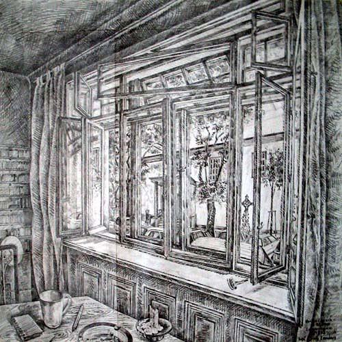 Monika Lassak, Langmaisgasse, Wohnen: Zimmer, Wohnen: Zimmer, Realismus, Expressionismus