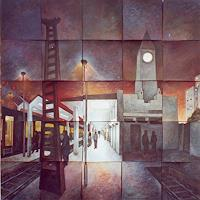 Monika-Lassak-Diverse-Bauten-Neuzeit-Realismus