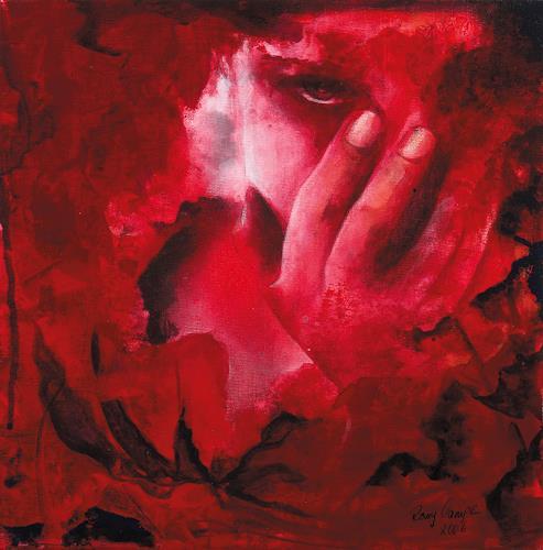 Romy Campe, oh mein Gott..., Gefühle: Angst, Diverse Menschen, Gegenwartskunst, Expressionismus
