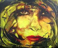 Romy-Campe-Diverse-Gefuehle-Menschen-Gesichter-Gegenwartskunst--Gegenwartskunst-