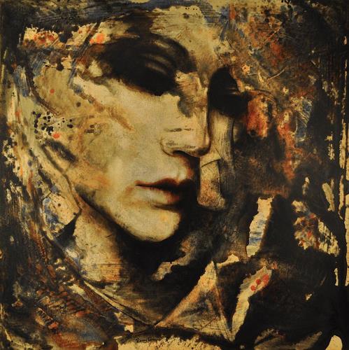 Romy Campe, JOKAIA, Menschen: Porträt, Diverse Gefühle, Abstrakter Expressionismus