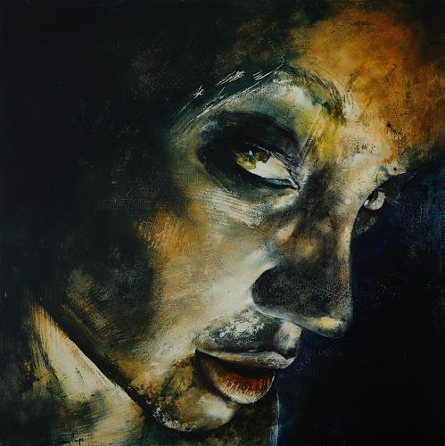 Romy Campe, Contact, Menschen: Porträt, Gefühle, Abstrakter Expressionismus