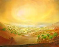 Silvian-Sternhagel-Fantasie-Landschaft-Huegel