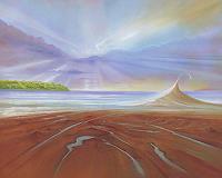 Silvian-Sternhagel-Landschaft-Strand-Natur-Wasser-Moderne-Naturalismus