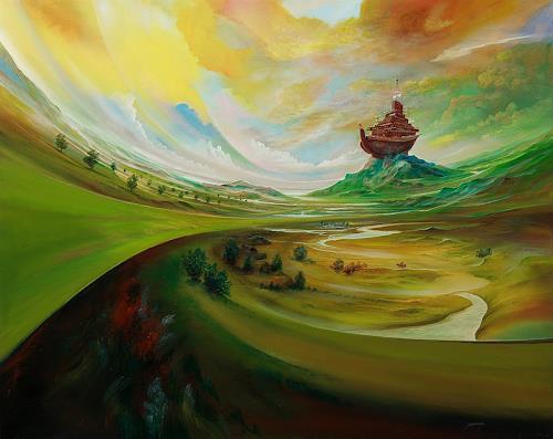 Silvian Sternhagel, Die Arche, Mythologie, Skurril, Symbolismus, Abstrakter Expressionismus