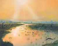 Silvian-Sternhagel-Landschaft-See-Meer-Diverse-Romantik-Moderne-Naturalismus
