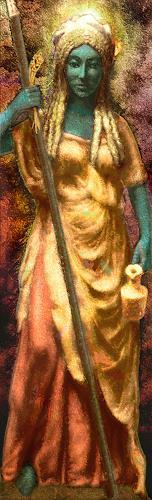 Mérovée, The Mystery, Mythologie, Menschen: Frau, Gegenwartskunst