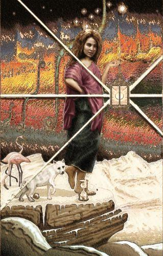 Mérovée, Arcas und Kalisto, Mythologie, Menschen: Frau, Postsurrealismus
