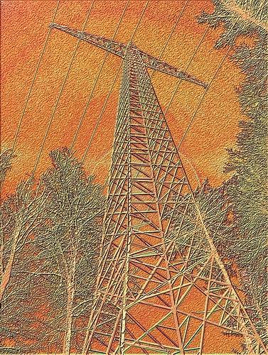 Mérovée, Orange, Diverse Landschaften, Industrie, Gegenwartskunst