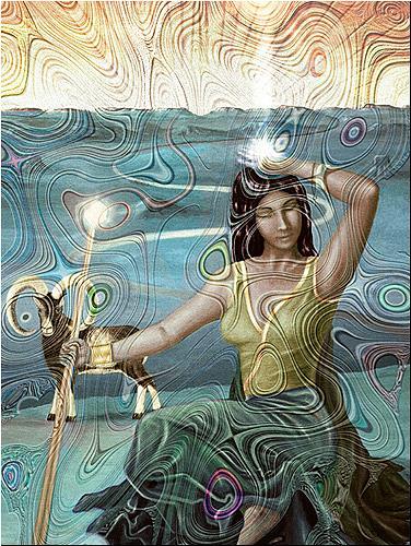 Mérovée, Mevrouwe, Mythologie, Menschen: Frau, Gegenwartskunst