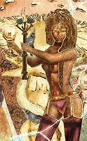 Merovee-Mythologie-Menschen-Frau