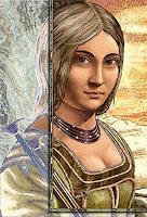 Merovee-Menschen-Frau-Religion