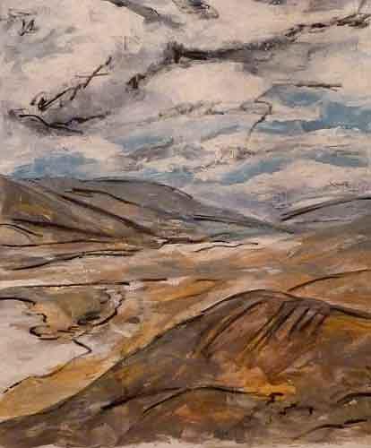 Ute Heitmann, Death Valley, Landschaft, Natur, Gegenwartskunst