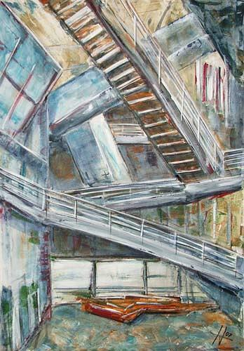 Ute Heitmann, Freie Akademie, Architektur, Gegenwartskunst