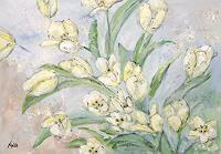 Ute-Heitmann-Pflanzen-Blumen-Pflanzen-Blumen-Gegenwartskunst--Gegenwartskunst-