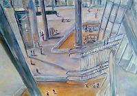 Ute-Heitmann-Architektur-Diverse-Menschen-Gegenwartskunst--Gegenwartskunst-