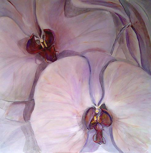 Ute Heitmann, Orchideen, Pflanzen: Blumen, Diverse Erotik