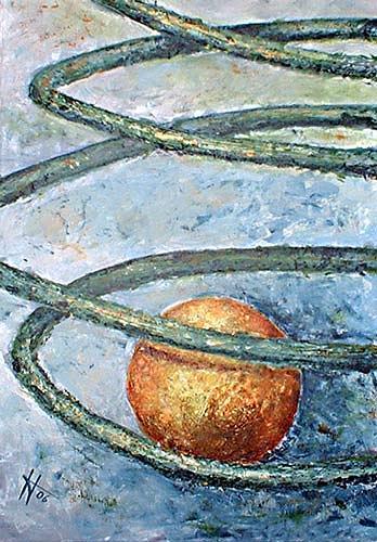 Ute Heitmann, Balance, Abstraktes, Bewegung, Gegenwartskunst