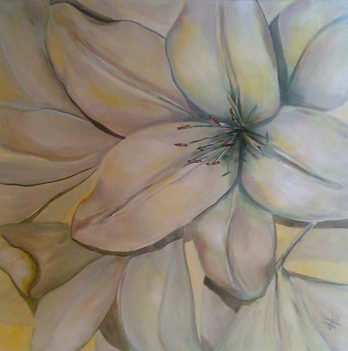 Ute Heitmann, Lillien, Pflanzen: Blumen, Diverses, Gegenwartskunst