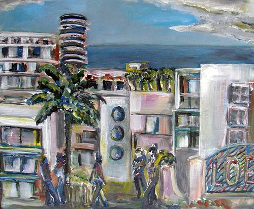 Ute Heitmann, Miami, Diverse Bauten, Situationen, Gegenwartskunst