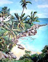 Ute-Heitmann-Landschaft-Tropisch-Pflanzen-Palmen