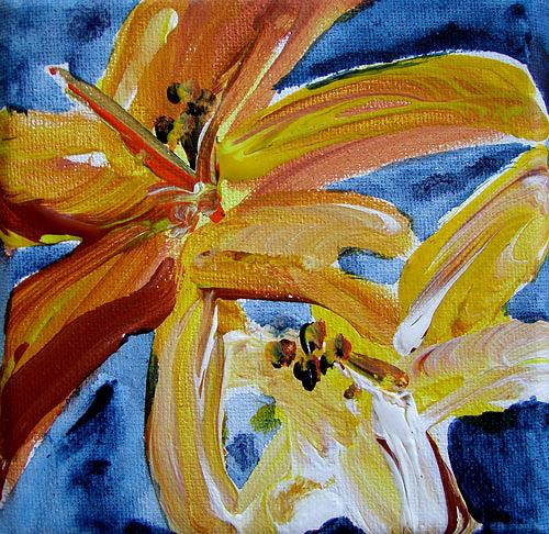 Ute Heitmann, Taglillie, Pflanzen: Blumen, Gegenwartskunst