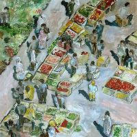 Ute-Heitmann-Markt-Situationen-Gegenwartskunst--Gegenwartskunst-