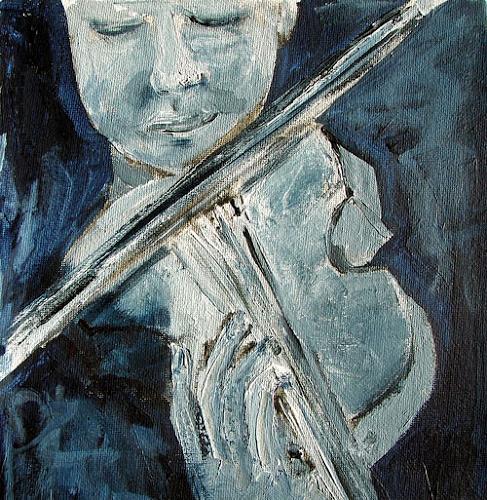 Ute Heitmann, Jamsession, Diverse Musik, Gegenwartskunst, Expressionismus
