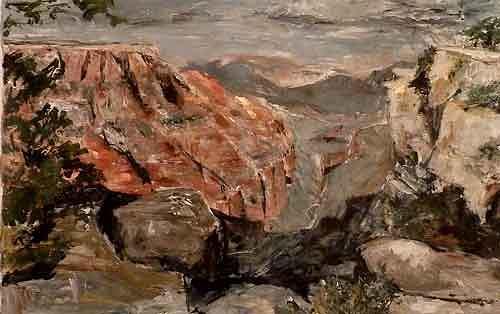 Ute Heitmann, Grand Canyon, Landschaft: Berge, Natur: Gestein, Gegenwartskunst