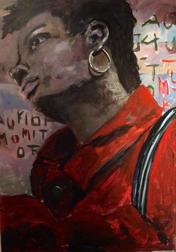 Ute Heitmann, ouala, Menschen: Frau, Menschen: Porträt, Gegenwartskunst
