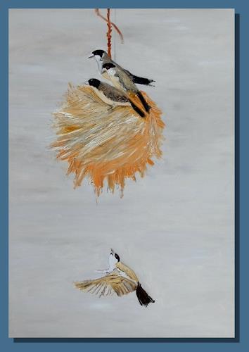 Ruth Batke, Family affairs, Natur: Diverse, Tiere: Luft, Abstrakte Kunst