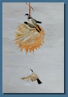 Ruth-Batke-Natur-Diverse-Tiere-Luft-Moderne-Abstrakte-Kunst