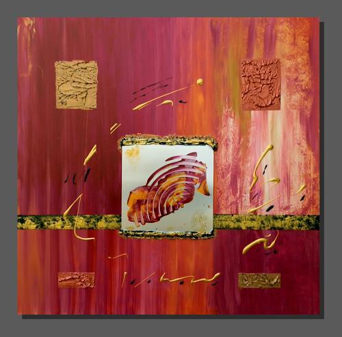 Ruth Batke, O/T, Abstraktes