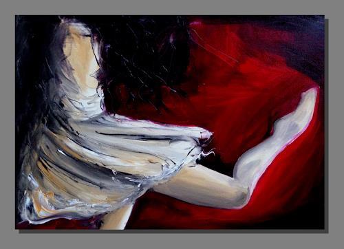 Ruth Batke, She moves, Abstraktes, Expressionismus