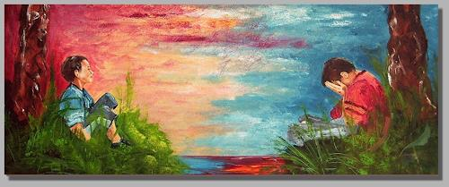 Ruth Batke, how´s the weather ?, Gefühle: Depression, Gefühle: Freude, Gegenwartskunst