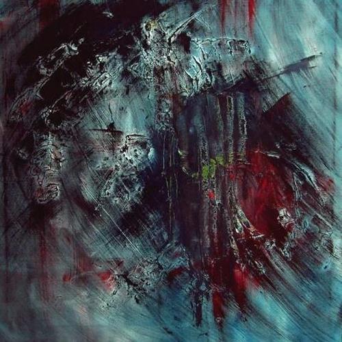Ruth Batke, I can feel your pain, Abstraktes, Gefühle: Depression, Abstrakter Expressionismus