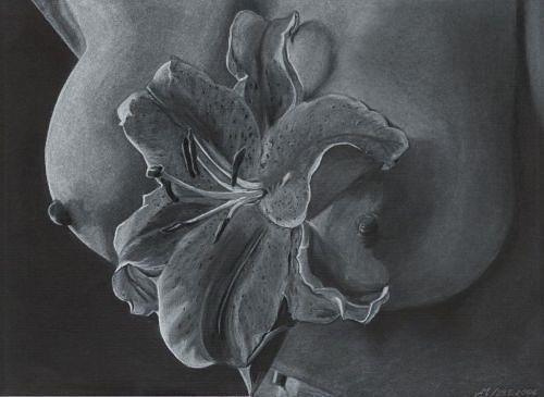 Annett Magnabosco, Act and flower, Akt/Erotik: Akt Frau, Diverse Erotik, Realismus