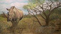 Annett-Magnabosco-Tiere-Land-Gefuehle-Trauer-Moderne-Abstrakte-Kunst