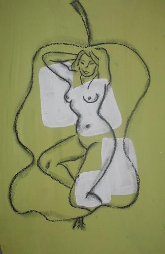 Brigitte Holzinger, AKT, Akt/Erotik: Akt Frau, Gegenwartskunst