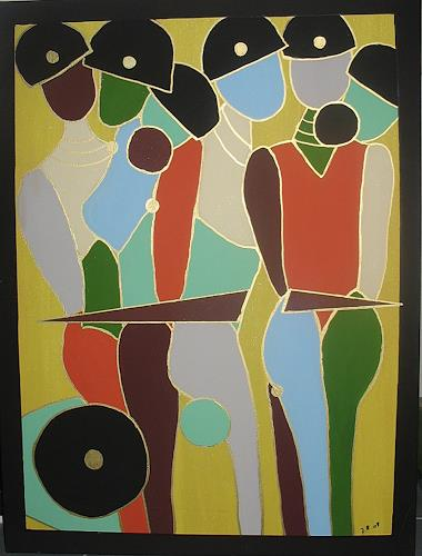 Brigitte Holzinger, FIGUR, Bewegung, Gegenwartskunst, Abstrakter Expressionismus