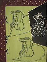 Brigitte-Holzinger-Akt-Erotik-Akt-Frau-Gegenwartskunst--Gegenwartskunst-